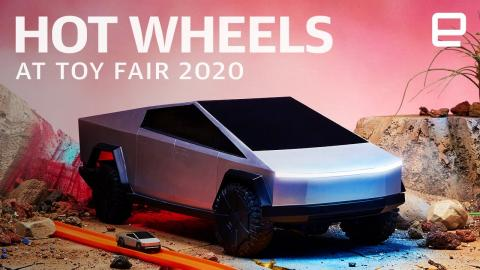 Hot Wheels ID and Tesla Cybertruck RC at Toy Fair 2020