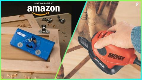 7 New Woodworking Tools You Should Have Available On Amazon ►24