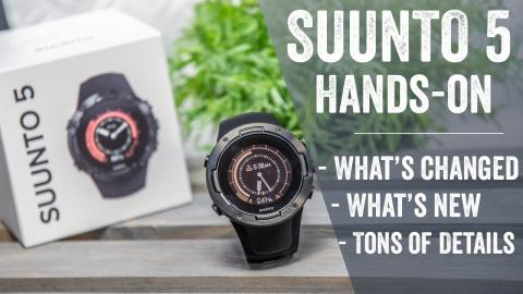 Suunto 5: Hands-on Details // User Interface Walk-Through