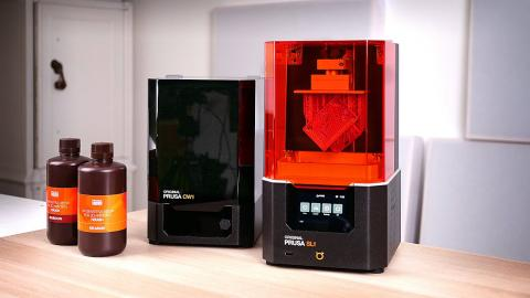 The MK3 of SLA resin printers? Prusa SL1 and CW1 review!