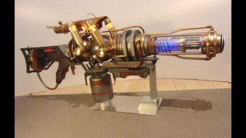 Steampunk Fallout Plasma Rifle
