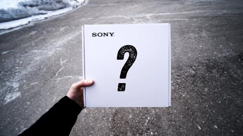 Sony Sent An Unexpected Package...