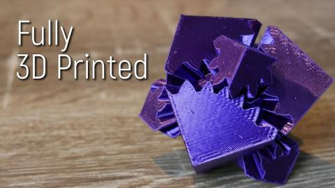 5 Cool 3D Printed Mechanisms