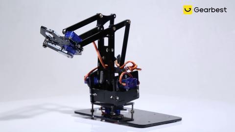 DIY Robotic Arm - Gearbest