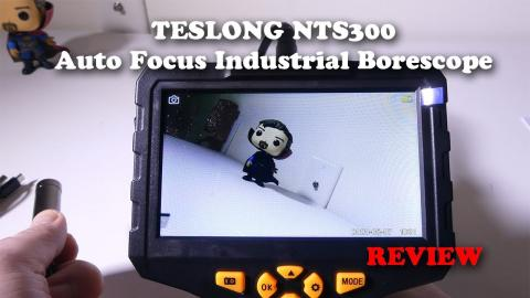TESLONG NTS300 Auto Focus Industrial Endoscope REVIEW