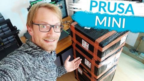 Was live: I've finally got one - Prusa Mini unboxing and first print!