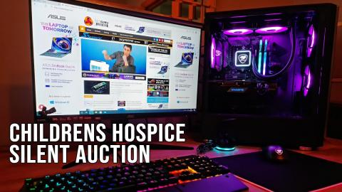 Childrens Hospice Charity Build - PC Auction
