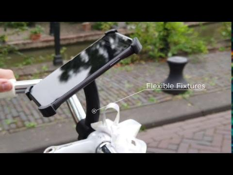 Flexible Fixtures - Prusa i3 Bicycle Phone Holder