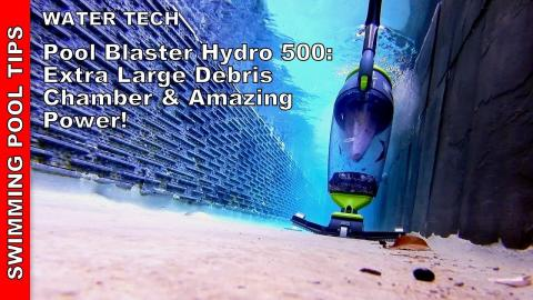 Pool Blaster Hydro 500 Cordless Battery Operated Vacuum: Large Debris Chamber and Amazing Power!