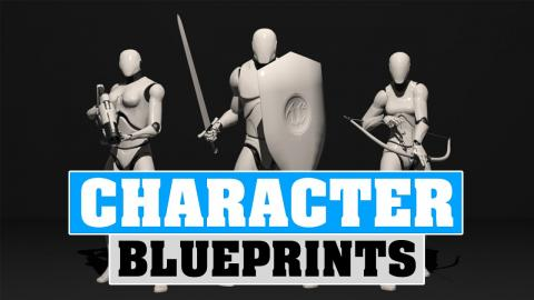Character Blueprints - Unreal Engine 5 Blueprints Beginner Tutorial