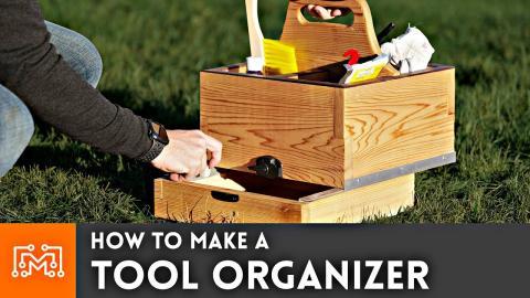 How to Make A Tool Organizer