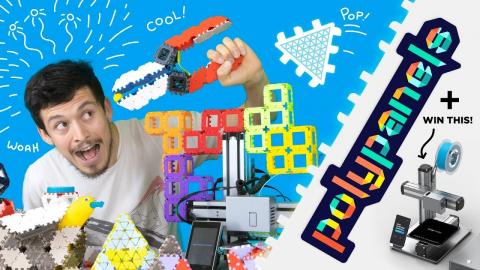 Make Anything with Polypanels & Win a Snapmaker 2 3D Printer!
