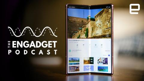 Samsung Galaxy Z Fold 2 and NVIDIA | Engadget Podcast Live