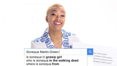Sonequa Martin-Green Answers the Web's Most Searched Questions | WIRED