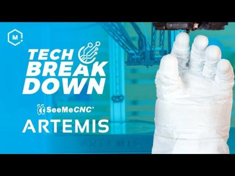 The New SeeMeCNC Artemis Delta // 3D Printer