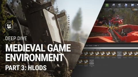 HLODs: Medieval Game Environment extended tutorial