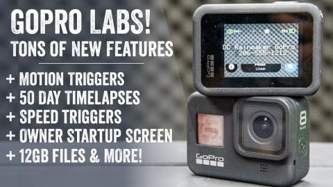 GoPro Labs: 9 New Features Just Released for Hero 8!