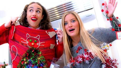 DIY Holiday Sweaters with Miranda Sings!