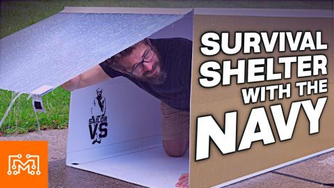 U.S. Navy Mobile Shelter Challenge | Sailor VS