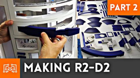Making R2-D2 Part 2