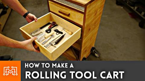How to Make A Rolling Tool Cart