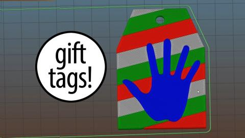 Custom Christmas Gift Tags - Using Fusion 360, Prusa Multi Material, & Inventables Carvey CNC-