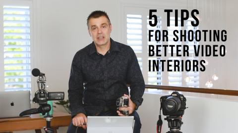 5 tips for shooting video interiors for your Youtube Channel