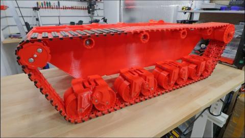 POWER TRAIN - 3D PRINTED TANK #11
