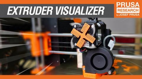 Extruder motor visualizer