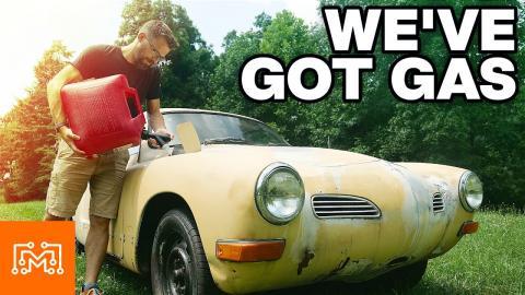 There's A Hole In The Gas Tank!   I Like To Make Stuff   Karmann Ghia