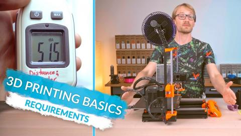 3D Printing Basics: Before you print - design and print space requirements! (Ep8)