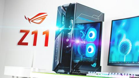 You've NEVER seen an ITX Case like this - ROG Z11 Review