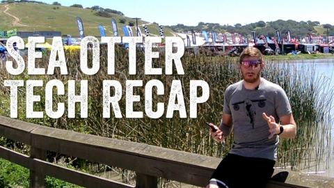 Sea Otter 2018 Tech Recap: Power Meters, Heads-up Displays, Bike Computers and more!