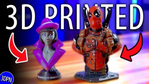 AWESOME 3D PRINTS Sent to Me! // Fan Mail Friday