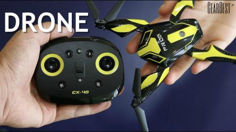 Frog-Shaped Foldable Drone w/ Camera Cheerson CX - GearBest
