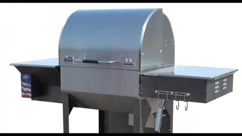 Watch This Review Of The MAK Grills 2 Star General Pellet Grill