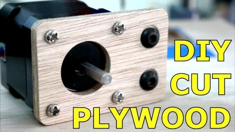 Cut Plywood with a 3D Printer