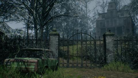 Haunted House (Unreal Engine 4)