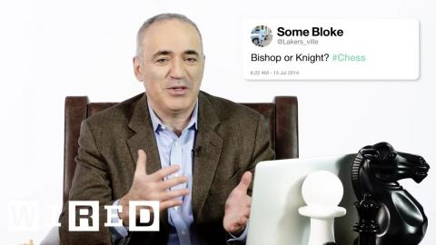 Garry Kasparov Answers Chess Questions From Twitter | Tech Support | WIRED