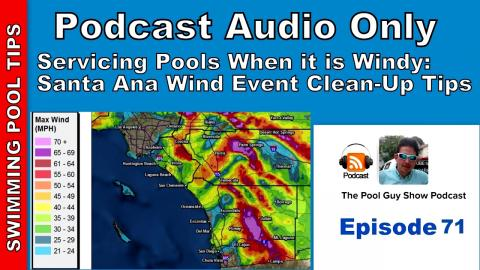 Cleaning a Pool After a Wind Event: Santa Ana Winds Tips