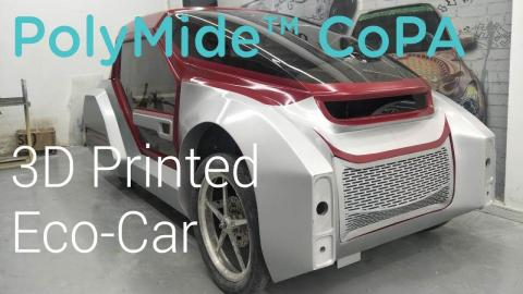 PolyMide™ CoPA - 3D Printed Eco-Car