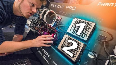 PHANTEKS Creates SLI ... For POWER SUPPLIES?