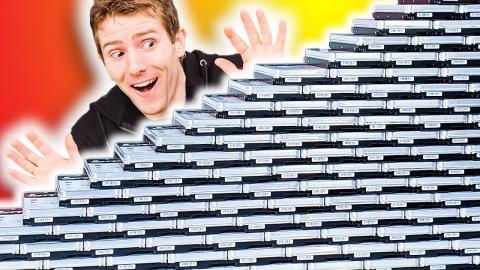 Unboxing 3 PETABYTES of storage!!