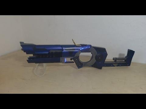 Custom SciFi Laser SMG (plus tiny Nerf BFG teaser)