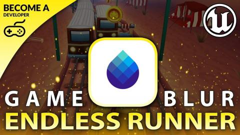 Pause & Endgame Blur - #15 Creating A MOBILE Endless Runner Unreal Engine 4