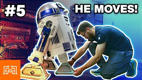 Making R2-D2 Part 5 // Feet & Motion | I Like To Make Stuff