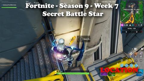 Fortnite - Season 9 Week 7 Secret Battle Star (find the secret battle star in loading screen #7)