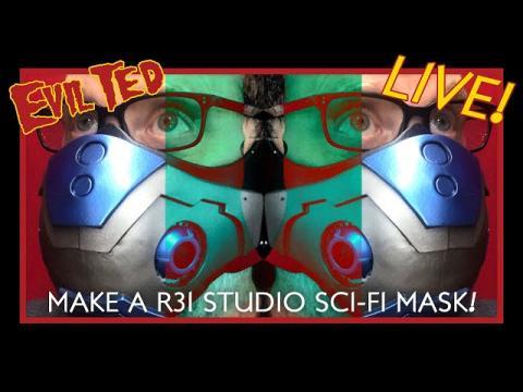 Making A R31-Studio Sci-Fi Mask