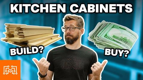 Kitchen Cabinets: Cheaper to Build or Buy? | I Like To Make Stuff