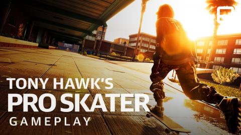 Tony Hawk's Pro Skater 1+2: 10 minutes of gameplay